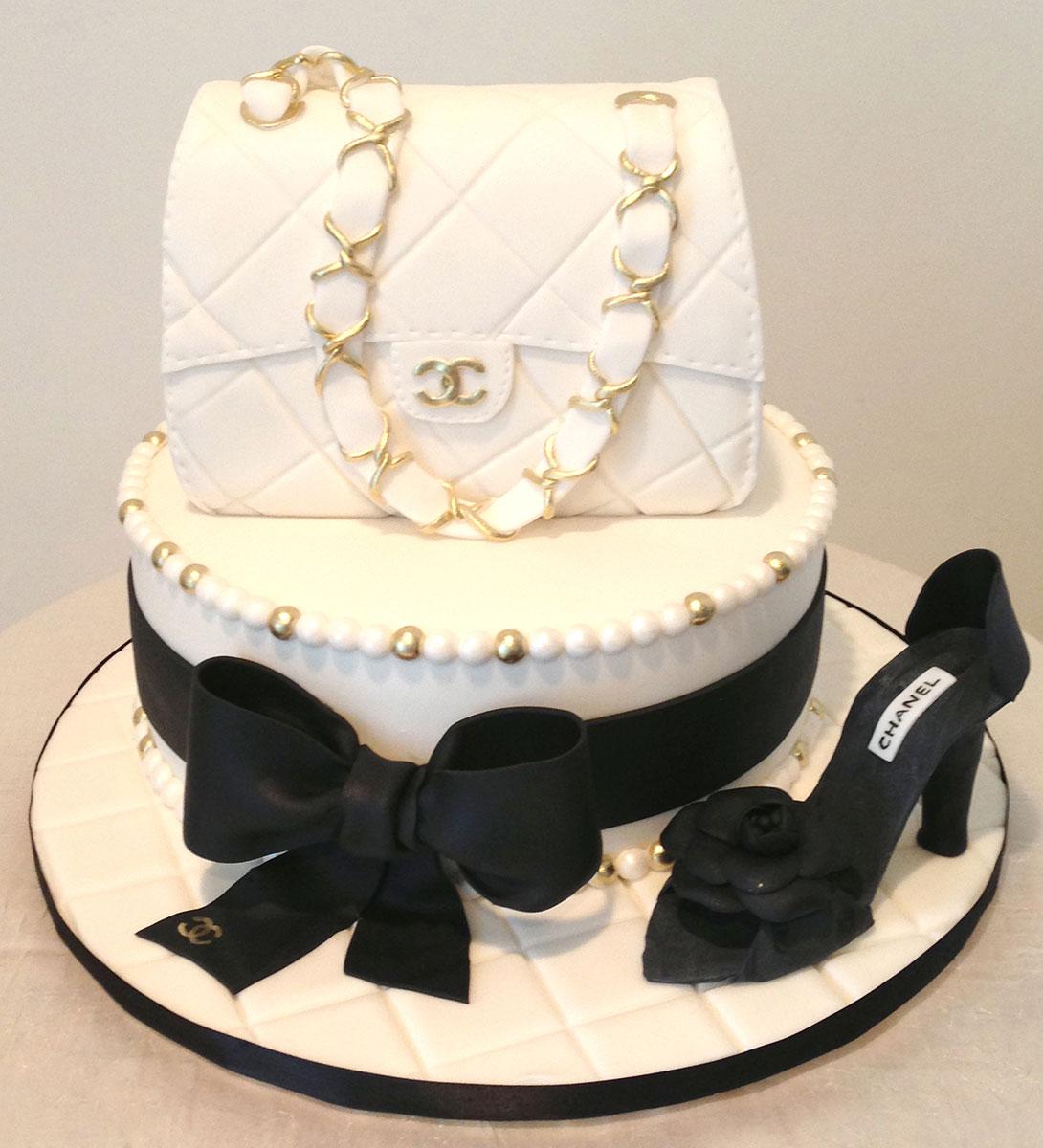 Chanel Cake Designs: Custom Cake Studio